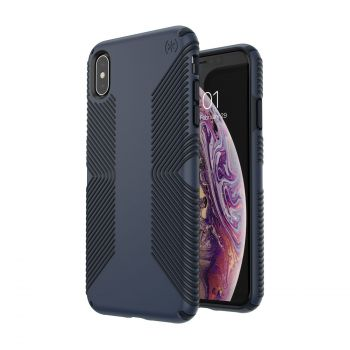 Чехол Speck Presidio Grip для iPhone XS Max Eclipse Blue/Carbon Black