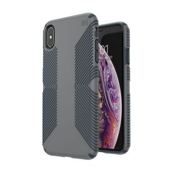 Чехол Speck Presidio Grip для iPhone XS Max Graphite Grey/Charcoal Grey