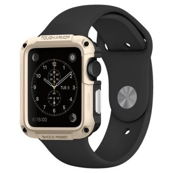 Чехол Spigen Tough Armor Case для Apple Watch Series SE / 6 / 5 / 4 (44 мм) Champagne Gold