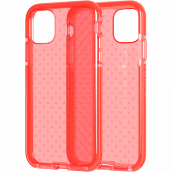 Ударопрочный чехол tech21 Evo Check для iPhone 11 Coral My World