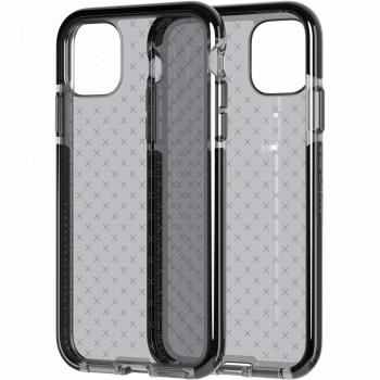 Ударопрочный чехол tech21 Evo Check для iPhone 11 Smokey Black