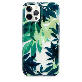 Ударопрочный чехол Tech21 Evo Art Botanical Garden Case Green для iPhone 12 Pro Max