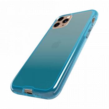 Ударопрочный чехол tech21 Pure Ombre Peppermint Blue для iPhone 11 Pro