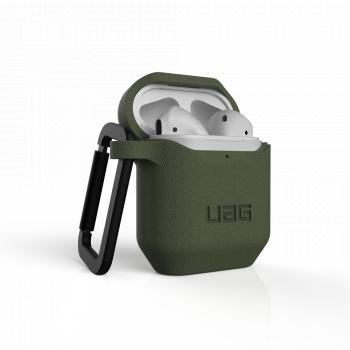 Чехол защитный UAG STANDARD ISSUE SILICONE_001 для Apple AirPods Olive зеленый