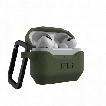 Чехол защитный UAG STANDARD ISSUE SILICONE_001 для Apple AirPods Pro Olive зеленый