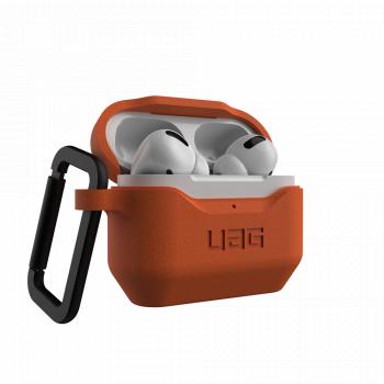 Чехол защитный UAG STANDARD ISSUE SILICONE_001 для Apple AirPods Pro Orange оранжевый