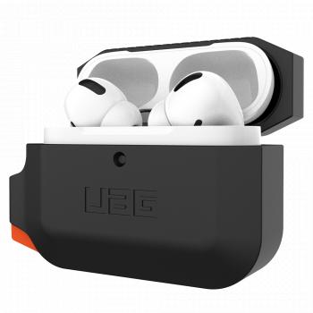 Чехол защитный UAG для Apple AirPods Pro Black / Orange черный с оранжевым