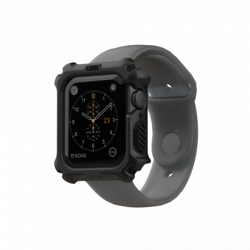 Противоударный чехол UAG Rugged Case для Apple Watch SE / 6 / 5 / 4 (44 мм) Black