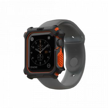 Противоударный чехол UAG Rugged Case для Apple Watch SE / 6 / 5 / 4 (44 мм) Black / Orange