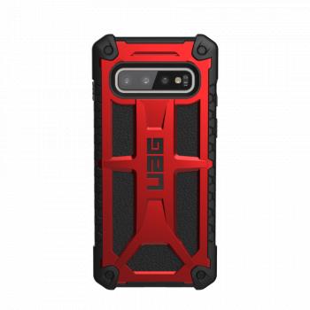 Чехол Urban Armor Gear Monarch Crimson для Samsung Galaxy S10