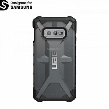 Чехол Urban Armor Gear Plasma Ash для Samsung Galaxy S10e черный прозрачный