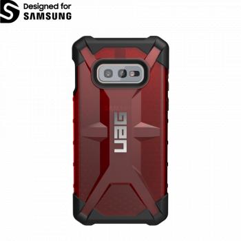 Чехол Urban Armor Gear Plasma Magma для Samsung Galaxy S10e красный прозрачный