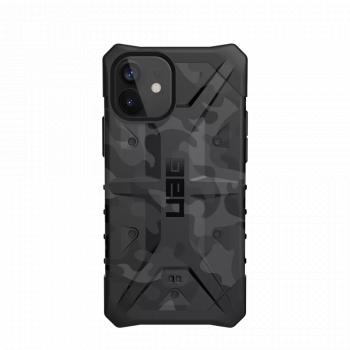 Ударопрочный чехол Urban Armor Gear Pathfinder Black Midnight Camo для iPhone 12