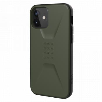 Ударопрочный чехол Urban Armor Gear Civilian Series Olive для iPhone 12