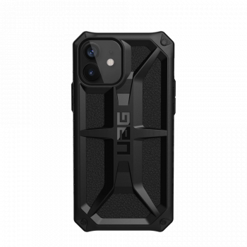 Ударопрочный чехол Urban Armor Gear Monarch Black для iPhone 12