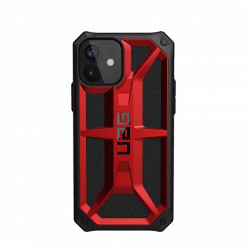 Ударопрочный чехол Urban Armor Gear Monarch Crimson для iPhone 12