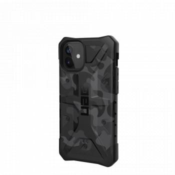 Ударопрочный чехол Urban Armor Gear Pathfinder Black Midnight Camo для iPhone 12 mini
