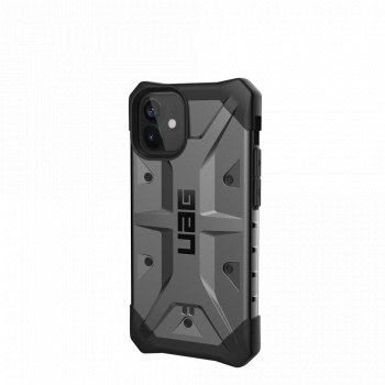 Ударопрочный чехол Urban Armor Gear Pathfinder Silver для iPhone 12 mini