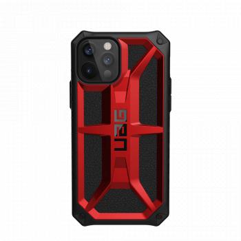 Ударопрочный чехол Urban Armor Gear Monarch Crimson для iPhone 12 Pro