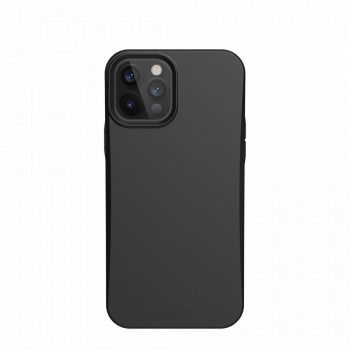 Ударопрочный чехол Urban Armor Gear Outback Bio Series Black для iPhone 12 Pro