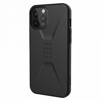 Ударопрочный чехол Urban Armor Gear Civilian Series Black для iPhone 12 Pro Max
