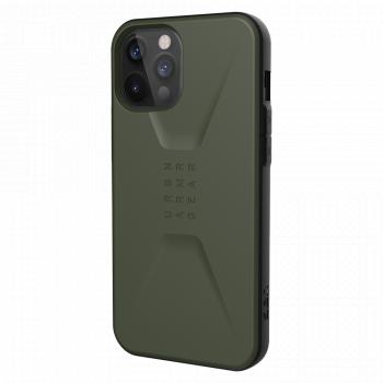Ударопрочный чехол Urban Armor Gear Civilian Series Olive для iPhone 12 Pro Max