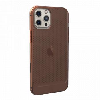 Ударопрочный чехол Urban Armor Gear Lucent Series Orange для iPhone 12 Pro Max