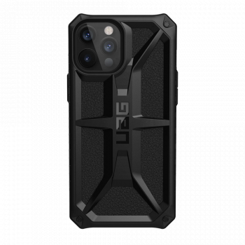 Ударопрочный чехол Urban Armor Gear Monarch Black для iPhone 12 Pro Max