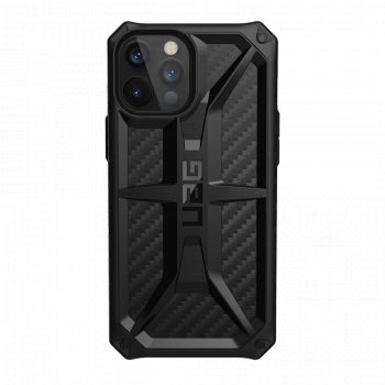 Ударопрочный чехол Urban Armor Gear Monarch Carbon Fiber для iPhone 12 Pro Max