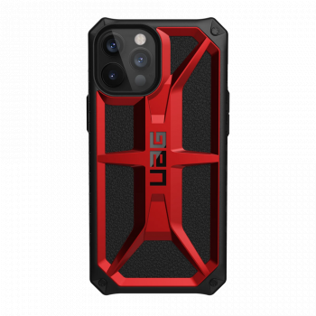 Ударопрочный чехол Urban Armor Gear Monarch Crimson для iPhone 12 Pro Max