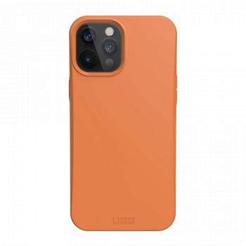 Ударопрочный чехол Urban Armor Gear Outback Bio Series Orange для iPhone 12 Pro Max