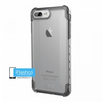 Чехол Urban Armor Gear Plyo Ice для iPhone 6 Plus / 6s Plus серый прозрачный