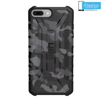 Чехол Urban Armor Gear Pathfinder SE CAMO SERIES Midnight для iPhone 6 / 7 / 8 Plus