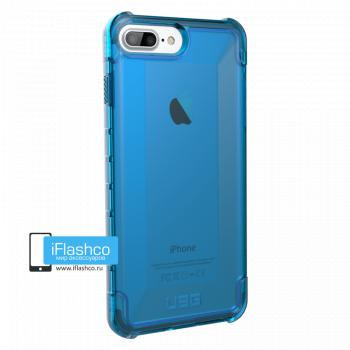 Чехол Urban Armor Gear Plyo Glacier для iPhone 7 Plus / 8 Plus синий прозрачный