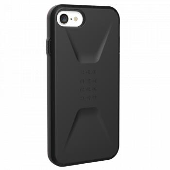 Чехол Urban Armor Gear Civilian Black для iPhone 6/7/8/SE черный