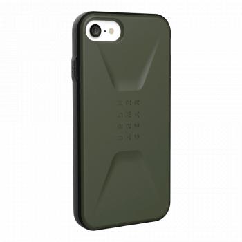 Чехол Urban Armor Gear Civilian Olive для iPhone 6/7/8/SE зеленый