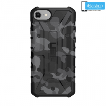 Чехол Urban Armor Gear Pathfinder SE CAMO SERIES Midnight для iPhone 6/7/8/SE