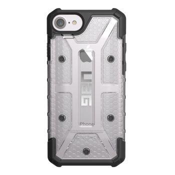 Чехол Urban Armor Gear Plasma Ice для iPhone 7/8/SE серый прозрачный