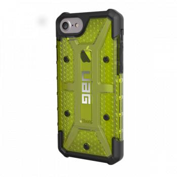 Чехол Urban Armor Gear Plasma Citron для iPhone 7/8/SE зеленый прозрачный