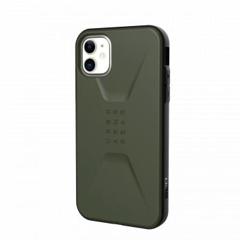 Ударопрочный чехол Urban Armor Gear Civilian Olive Drab для iPhone 11