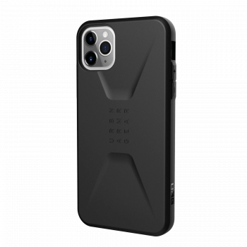 Ударопрочный чехол Urban Armor Gear Civilian Black для iPhone 11 Pro Max