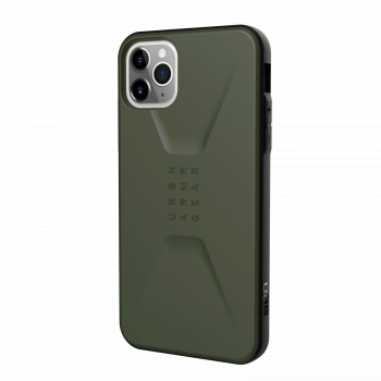 Ударопрочный чехол Urban Armor Gear Civilian Olive Drab для iPhone 11 Pro Max