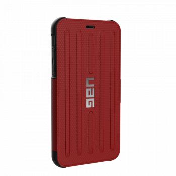 Чехол Urban Armor Gear Metropolis Magma для iPhone XR красный