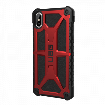 Чехол Urban Armor Gear Monarch Crimson для iPhone XS Max