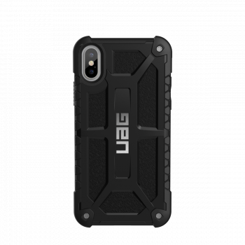 Чехол Urban Armor Gear Monarch Black для iPhone X/XS