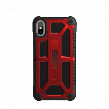 Чехол Urban Armor Gear Monarch Crimson для iPhone X/XS
