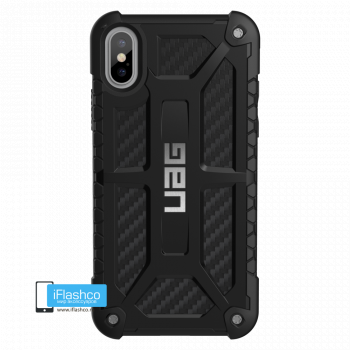 Чехол Urban Armor Gear Monarch Carbon Fiber для iPhone X/XS