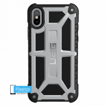 Чехол Urban Armor Gear Monarch Platinum для iPhone X/XS