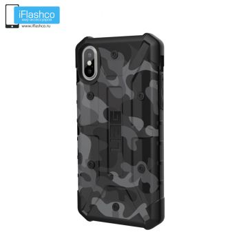 Чехол Urban Armor Gear PATHFINDER SE CAMO Midnight для iPhone X/XS