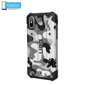 Чехол Urban Armor Gear PATHFINDER SE CAMO Arctic для iPhone X/Xs